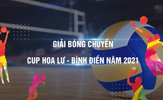 Lịch thi đấu bóng chuyền Cúp Hoa Lư - Bình Điền 2021