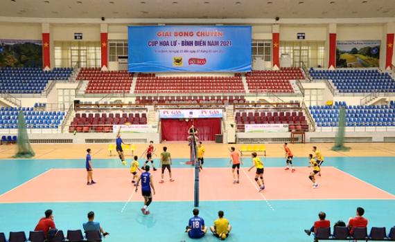 Sẵn sàng cho Giải bóng chuyền cúp Hoa Lư – Bình Điền năm 2021