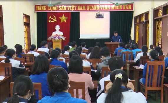 Tam Điệp bồi dưỡng lý luận chính trị cho Thanh niên