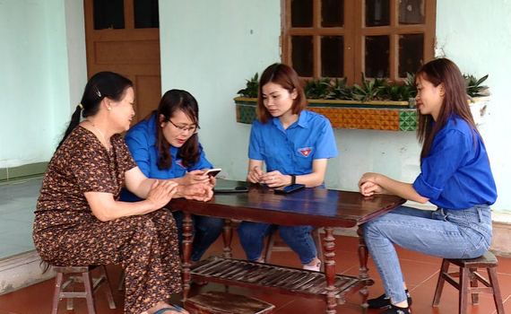 Thanh niên Yên Hòa đẩy mạnh chuyển đổi số