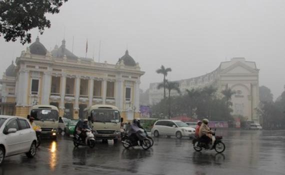 Thời tiết hôm nay 1/3: Miền Bắc mưa phùn gió rét, trời âm u