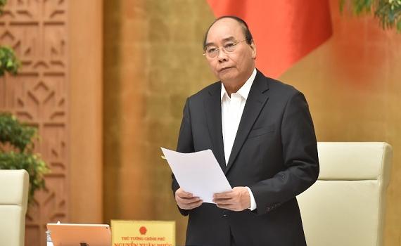 Thủ tướng Nguyễn Xuân Phúc chủ trì phiên họp Chính phủ thường kỳ tháng 3/2021