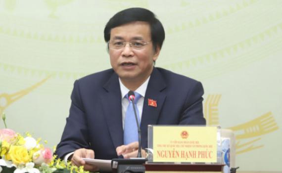 Tổng Thư ký Quốc hội, Chủ nhiệm Văn phòng Quốc hội Nguyễn Hạnh Phúc: Cội nguồn sức mạnh của Quốc hội là Nhân dân