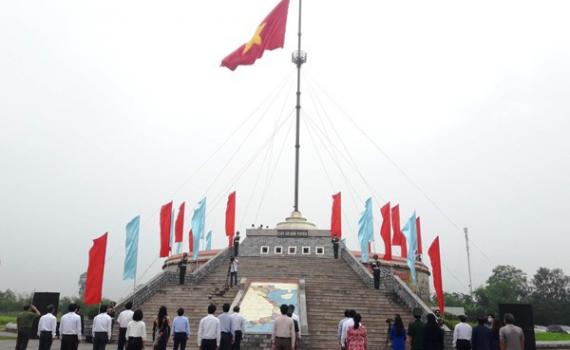 Lễ thượng cờ thống nhất non sông tại Hiền Lương - Bến Hải