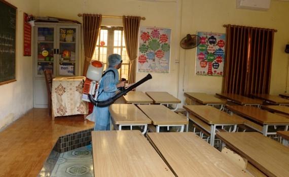 Ninh Bình: Chuẩn bị điều kiện cho học sinh đi học trở lại
