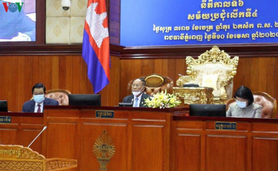 Quốc hội Campuchia thông qua dự luật về tình trạng khẩn cấp