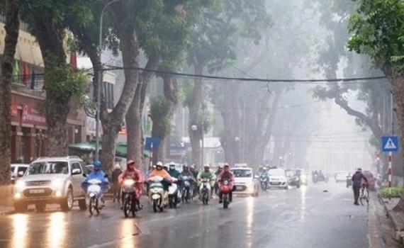 Cảnh báo mưa lớn, lốc, sét, mưa đá ở Bắc Bộ, Bắc Trung Bộ