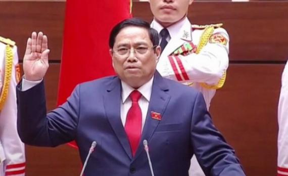 Đồng chí Phạm Minh Chính được bầu giữ chức Thủ tướng Chính phủ