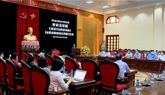 Họp báo lần thứ nhất về cuộc bầu cử ĐBQH khóa XV và đại biểu HĐND các cấp, nhiệm kỳ 2021-2026