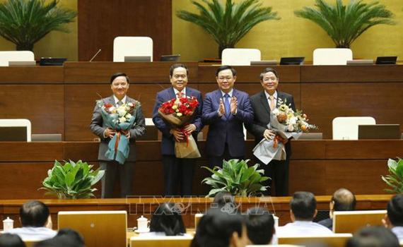 Kỳ họp thứ Mười một, Quốc hội Khóa XIV: Quốc hội có 3 Phó Chủ tịch Quốc hội mới
