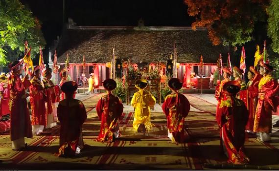 Lễ tế Cửu khúc - Nét văn hóa đặc sắc trong Lễ hội Hoa Lư