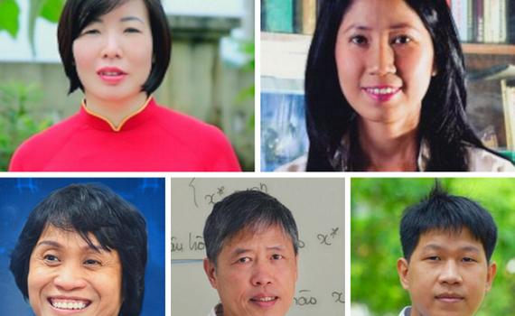 Năm nhà khoa học Việt lọt Tốp 100 châu Á