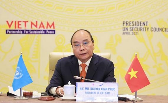Phiên thảo luận của HĐBA do Chủ tịch nước chủ trì tạo tiếng vang lớn