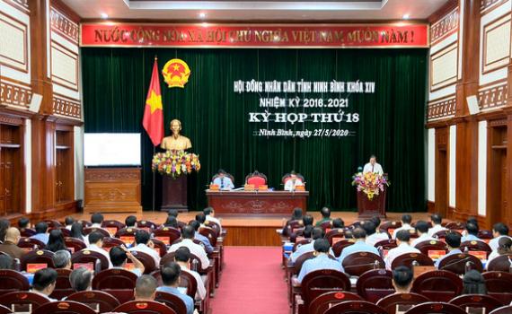 Kỳ họp thứ 18, HĐND tỉnh khóa XIV