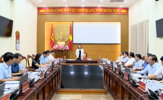 Thảo luận, cho ý kiến vào các tờ trình của UBND tỉnh tại kỳ họp thứ 18, HĐND tỉnh