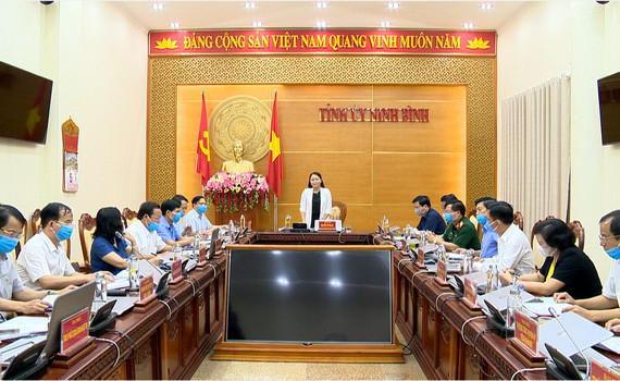 Thường trực Tỉnh ủy triển khai công tác lãnh đạo thực hiện nhiệm vụ tháng 5/2020