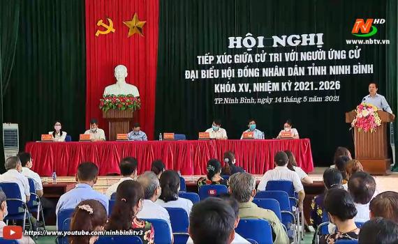 Các ứng cử viên đại biểu HĐND tỉnh khóa XV tiếp tục tiếp xúc cử tri