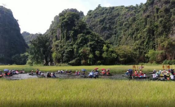 5 tháng du lịch Ninh Bình đón trên 1,3 triệu lượt khách