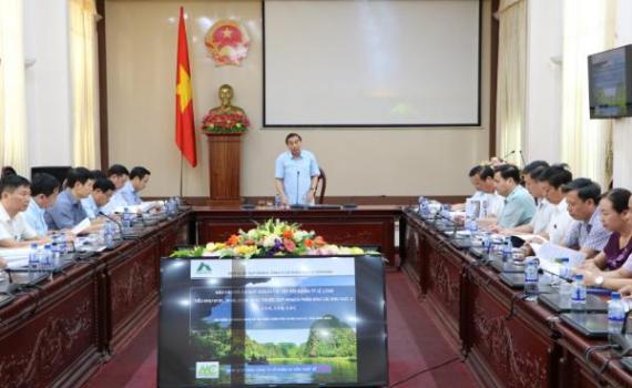 Báo cáo quy hoạch chi tiết tiểu khu thuộc quy hoạch chung đô thị Ninh Bình