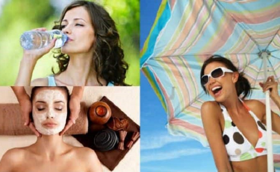 Cách duy trì làn da rạng rỡ dưới cái nắng gay gắt của mùa hè