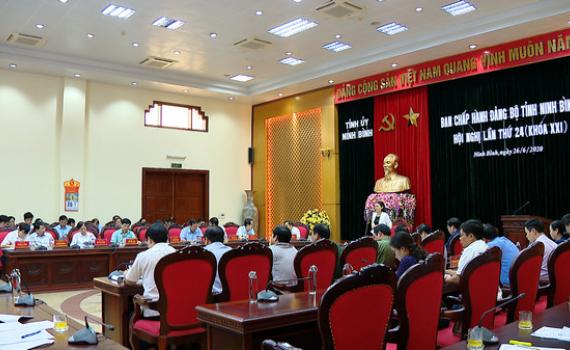 Hội nghị BCH Đảng bộ tỉnh lần thứ 24