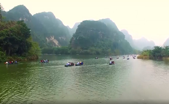 Ninh Bình tiếp tục đăng cai Năm Du lịch Quốc gia 2021