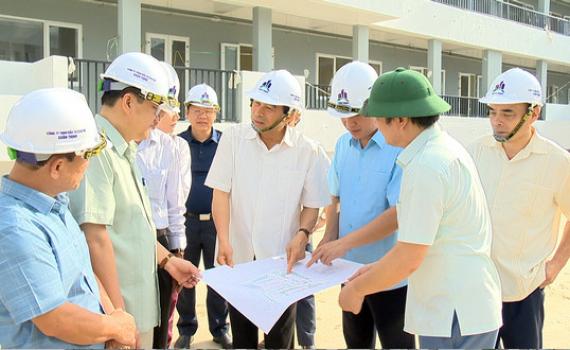 Đồng chí Chủ tịch UBND tỉnh thăm và làm việc tại một số dự án, điểm du lịch