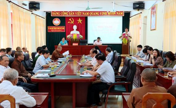 Hội nghị lần thứ 4, Ủy ban MTTQ Việt Nam tỉnh khóa XI
