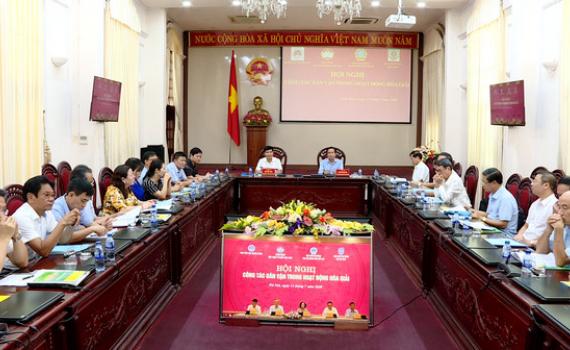 Hội nghị trực tuyến công tác dân vận trong hoạt động hòa giải