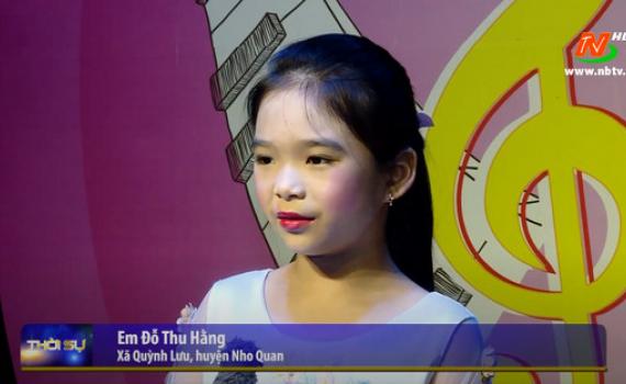 Liên hoan tiếng hát Hoa phượng đỏ - Sân chơi bổ ích cho thiếu nhi trong dịp hè