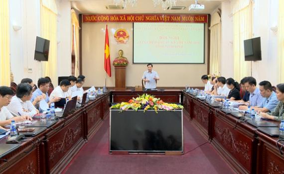 Hội nghị Ban Chỉ đạo các kỳ thi năm 2020 tỉnh Ninh Bình