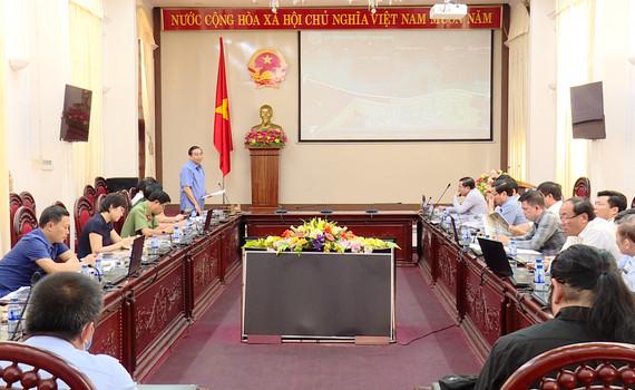 Hội nghị nghe báo cáo ý tưởng quy hoạch
