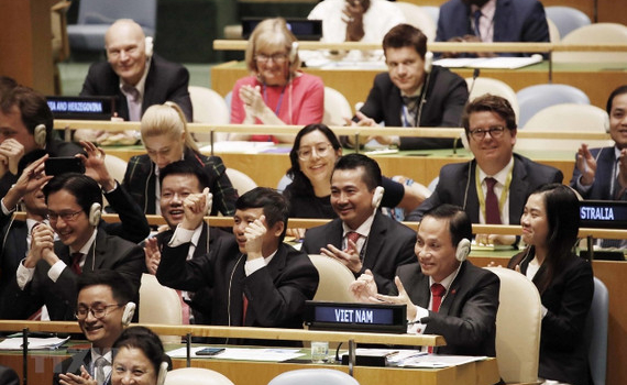 """43 năm tham gia LHQ: Tạo ra """"Thương hiệu Việt Nam"""" trong hoạt động ngoại giao đa phương"""