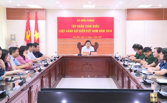 Bộ Quốc phòng tập huấn về Luật Cảnh sát biển Việt Nam