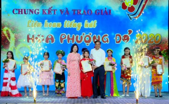 Liên hoan tiếng hát Hoa Phượng đỏ tỉnh Ninh Bình năm 2020 thành công tốt đẹp