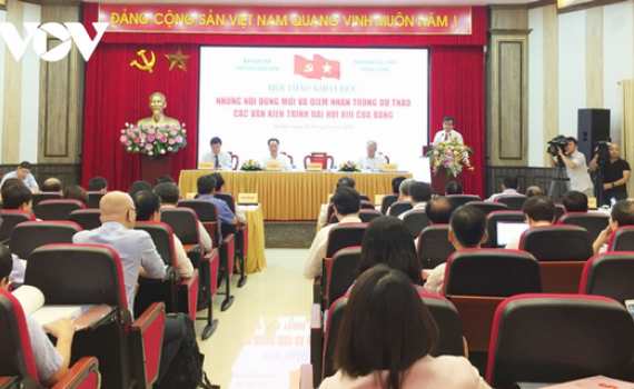 Điểm nhấn trong dự thảo các Văn kiện trình Đại hội XIII của Đảng