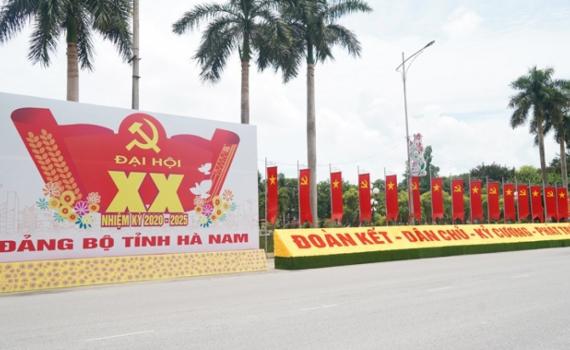 Hà Nam chính thức khai mạc Đại hội Đảng bộ cấp tỉnh đầu tiên trên cả nước