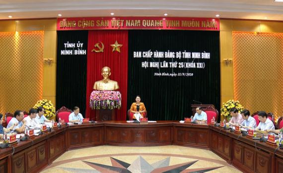 Hội nghị BCH Đảng bộ tỉnh lần thứ 25