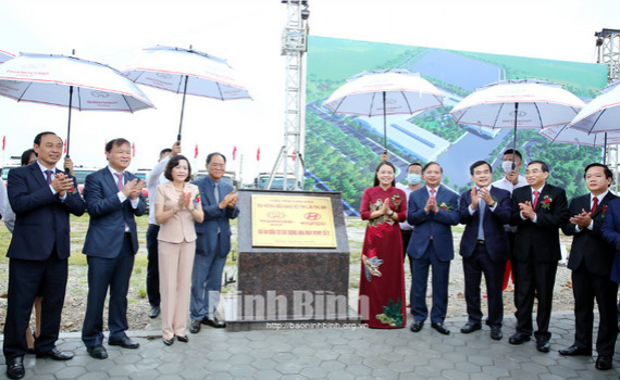 Khởi công Dự án nhà máy Hyundai Thành Công số 2 tại Ninh Bình