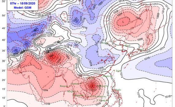 Không khí lạnh tràn xuống Bắc Bộ và Bắc Trung Bộ gây mưa rào, nhiệt độ giảm