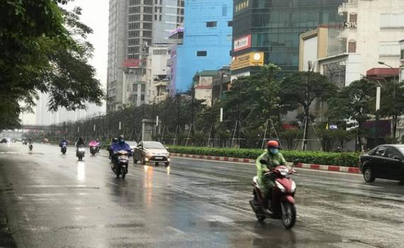 Thời tiết 29/9: Mưa dông rải rác trên cả nước
