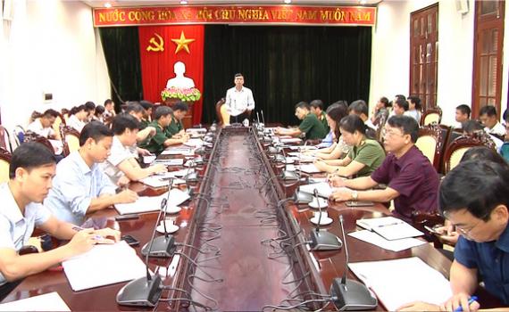 TP Ninh Bình triển khai công tác tuyển chọn, gọi công dân nhập ngũ năm 2021