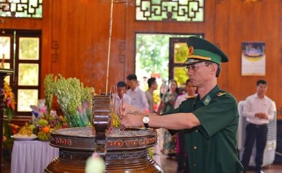 Trang trọng Lễ giỗ Chủ tịch Hồ Chí Minh lần thứ 51 tại Nghệ An
