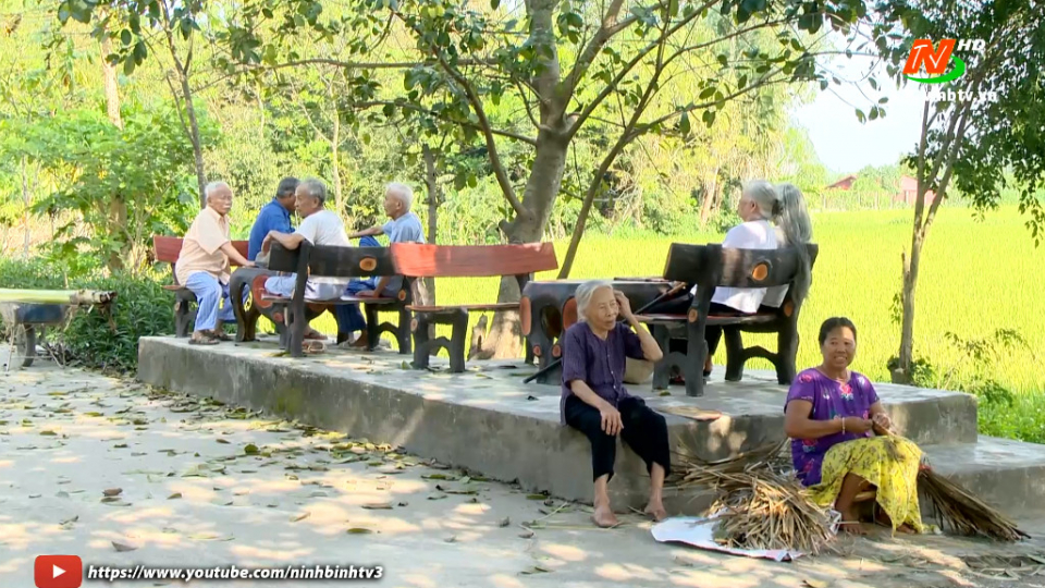 Bí quyết sống vui, sống khỏe của người cao tuổi xã Ninh Giang