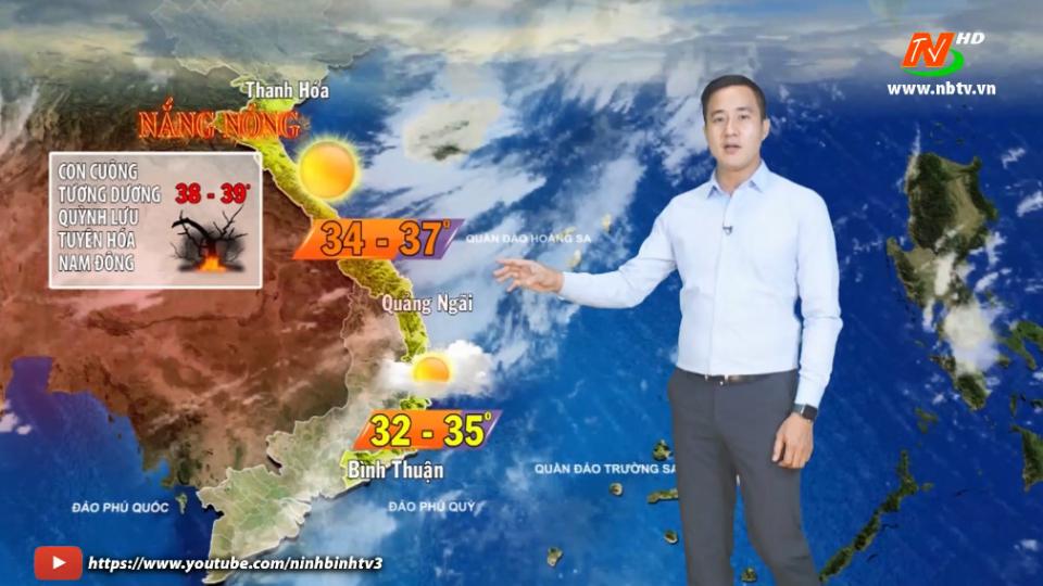 Dự báo thời tiết đêm 10 ngày 11.5.2021.