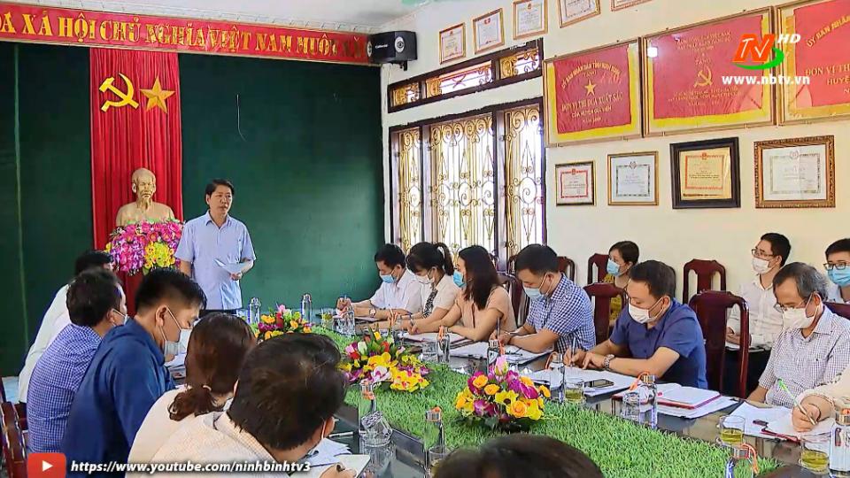 Kiểm tra công tác chuẩn bị bầu cử tại huyện Gia Viễn.