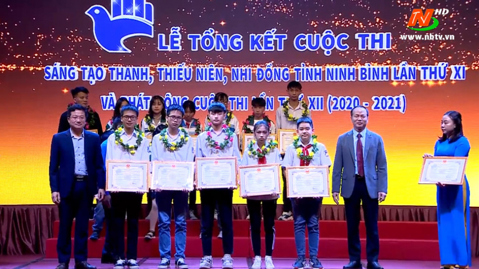 Lễ tổng kết Cuộc thi sáng tạo thanh thiếu niên và nhi đồng tỉnh Ninh Bình lần thứ XI