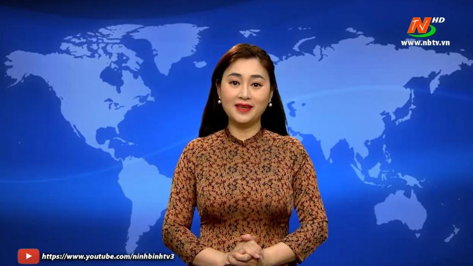Thời sự Trưa NinhBinh TV - 21/01/2021