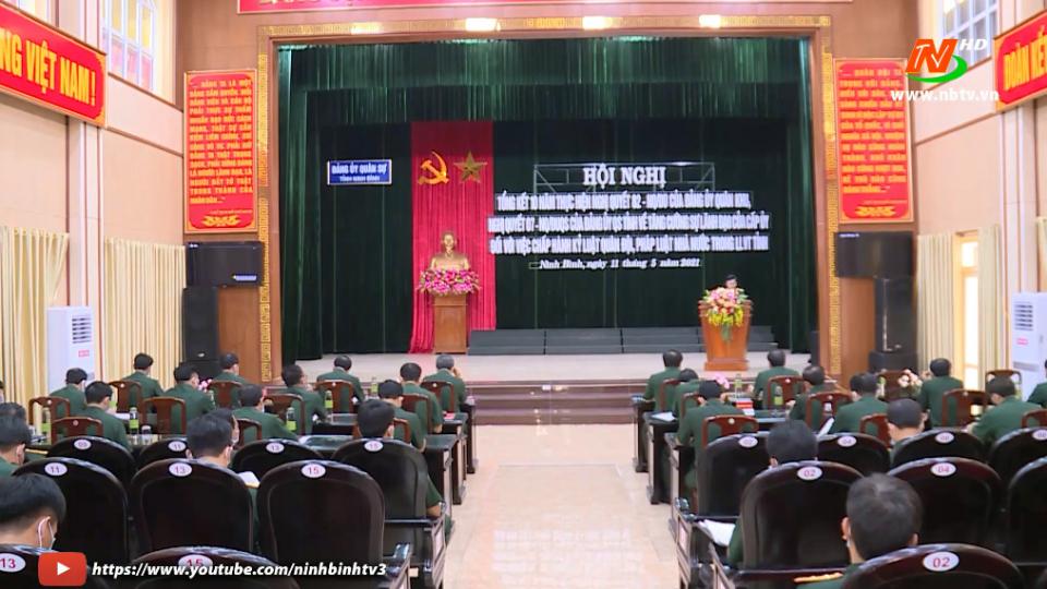 Tổng kết 10 năm thực hiệnnghị quyết 82 của Đảng ủy Quân khu III.