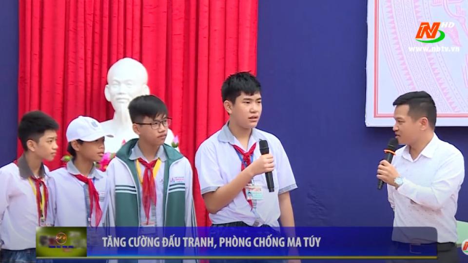 Truyền hình thành phố Ninh Bình:Tăng cường đấu tranh phòng chống ma túy